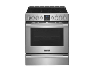 """30"""" Frigidaire 5.4 Cu. Ft. Front Control Freestanding Air Fry Range - PCFE307CAF"""