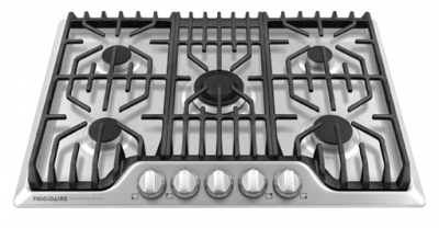 """30"""" Frigidaire Professional Gas Cooktop With Griddle - FPGC3077RS"""