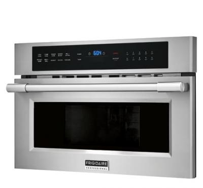 """30"""" Frigidiare Professional 1.6 Cu. Ft. Built-In Convection Microwave Oven With Drop-Down Door - FPMO3077TF"""