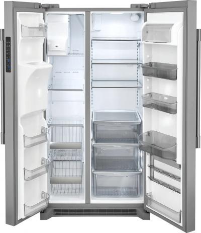 "36"" Frigidaire Professional 22.0 Cu. Ft. Counter-Depth Side-by-Side Refrigerator - FPSC2278UF"