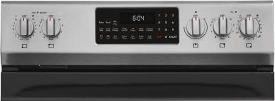 """30"""" Frigidaire Gallery 5.7 Cu. Ft. Freestanding Electric Range With Air Fry In Stainless Steel - GCRE306CAF"""