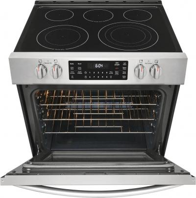 """30"""" Frigidaire Gallery 5.4 Cu. Ft. Front Control Electric Range - CGEH3047VF"""