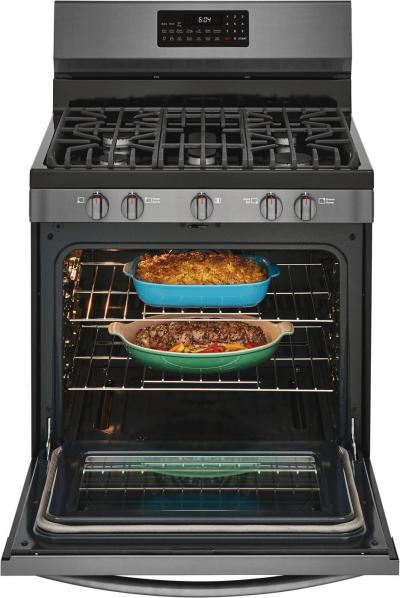 """30"""" Frigidaire Gallery Freestanding Gas Range With Air Fry - GCRG3060AD"""