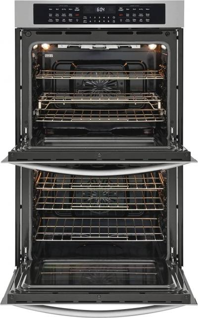 """30"""" Frigidaire Gallery Electric Double Wall Oven With Air Fry - FGET3069UF"""