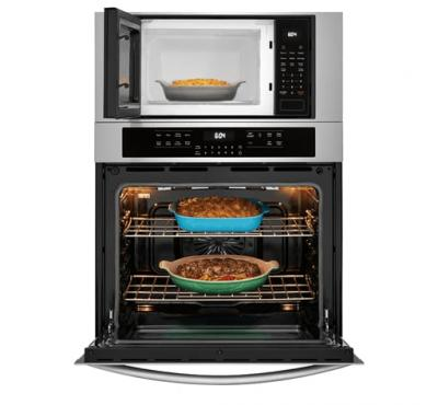 """30"""" Frigidaire Gallery Electric Wall Oven/Microwave Combination - FGMC3066UF"""