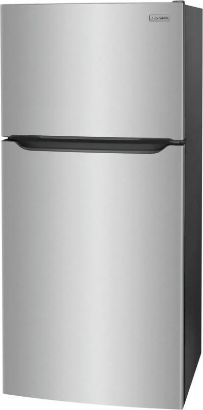"30"" Frigidaire 18.3 Cu. Ft. Top Freezer Refrigerator In Stainless Steel - FFTR1835VS"