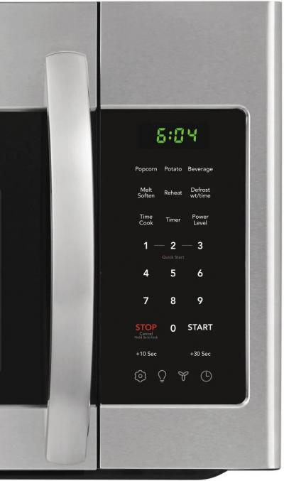 """30"""" Frigidaire 1.8 Cu. Ft. Over the Range Microwaves With Stainless Steel - FFMV1846VS"""