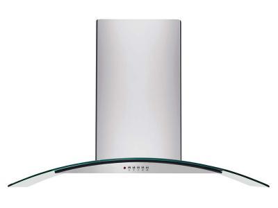 "42"" Frigidaire  Glass Canopy Island Hood - FHPC4260LS"
