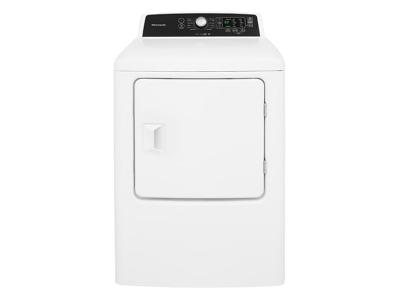 """27"""" Frigidaire 6.7 Cu. Ft. High Efficiency Free Standing Electric Dryer - CFRE4120SW"""