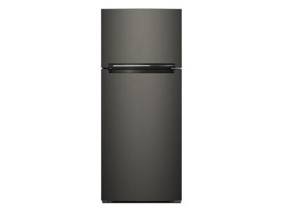 """28"""" Whirlpool 18 Cu. Ft. Top Mount Refrigerator Compatible With The EZ Connect Icemaker Kit - WRT518SZKV"""