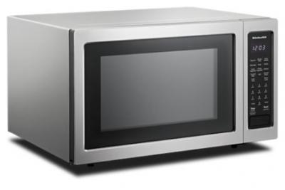 "22"" KitchenAid Countertop Convection Microwave Oven - 1000 Watt KMCC5015GSS"