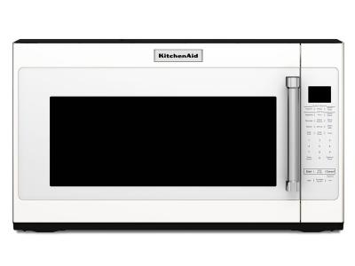 "30"" KitchenAid 950-Watt Microwave with 7 Sensor Functions YKMHS120EW"