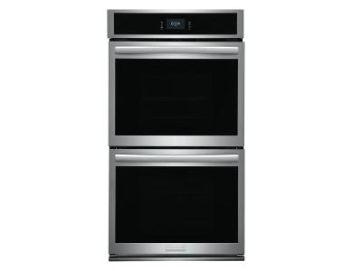 """27"""" Frigidaire Gallery 7.6 Cu. Ft. Double Electric Wall Oven With Total Convection In Stainless Steel - GCWD2767AF"""