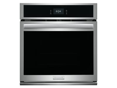 """27"""" Frigidaire Gallery 3.8 Cu. Ft. Single Electric Wall Oven With Total Convection In Stainless Steel - GCWS2767AF"""
