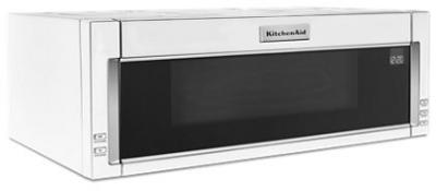 "30"" KitchenAid 1000-Watt Low Profile Microwave Hood Combination-YKMLS311HWH"