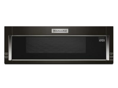 "30"" KitchenAid 1000-Watt Low Profile Microwave Hood Combination-YKMLS311HBS"