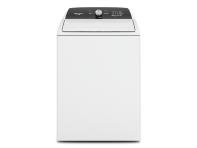 """28"""" Whirlpool 4.6 Cu. Ft. Top Load Impeller Washer with Built-In Faucet - WTW5010LW"""