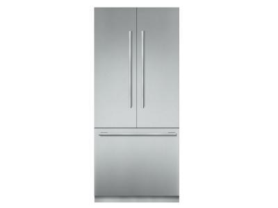 """36"""" Thermador Built-in French Door Bottom Freezer Refrigerator - T36IT905NP"""