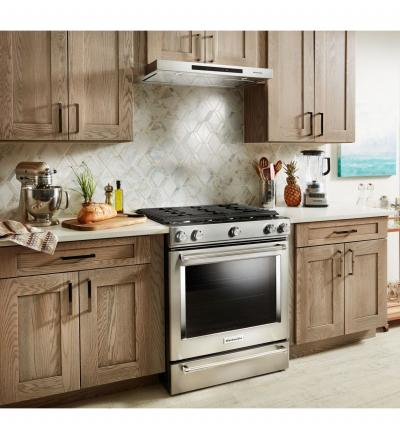 "30"" KitchenAid Low Profile Under-Cabinet Ventilation Hood KVUB400GSS"