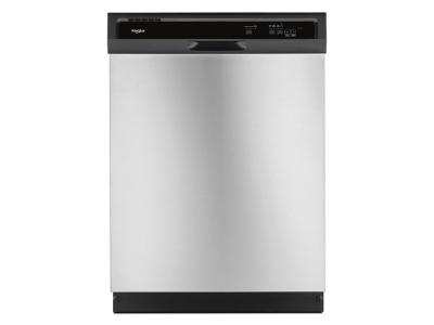 Whirlpool Heavy-Duty Dishwasher With 1-Hour Wash Cycle In Stainless Steel - WDF331PAHS