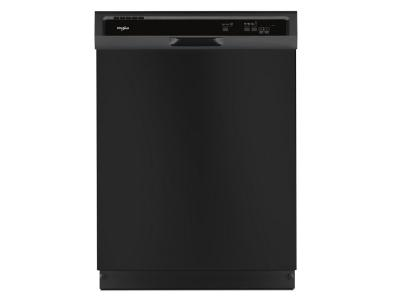 Whirlpool Heavy-Duty Dishwasher With 1-Hour Wash Cycle In Black - WDF331PAHB