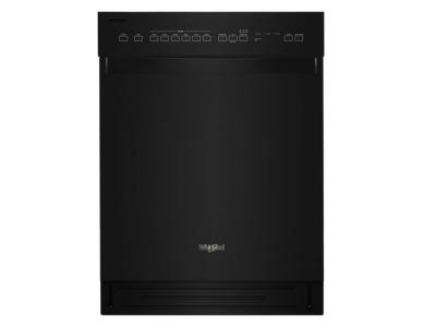 Whirlpool Quiet Dishwasher With Stainless Steel Tub In Black - WDF550SAHB