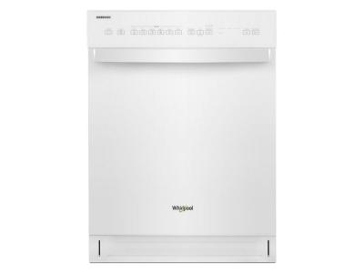 Whirlpool Quiet Dishwasher With Stainless Steel Tub In White - WDF550SAHW