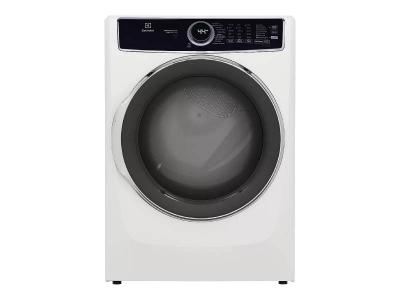 """27"""" Electrolux 8.0 Cu. Ft. Front Load Gas Dryer in White - ELFG7537AW"""