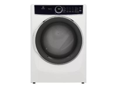 """27"""" Electrolux 8.0 Cu. Ft. Front Load Electric Dryer in White - ELFE753CAW"""