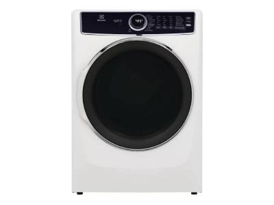 """27"""" Electrolux 8.0 Cu. Ft. Electric Dryer in White - ELFE763CAW"""