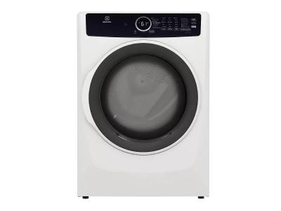 """27"""" Electrolux 8.0 Cu. Ft. Front Load Gas Dryer in White - ELFG7437AW"""