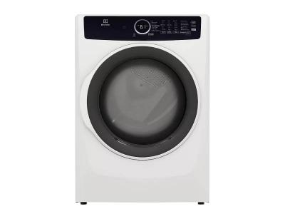 """27"""" Electrolux 8.0 Cu. Ft. Front Load Electric Dryer in White - ELFE743CAW"""