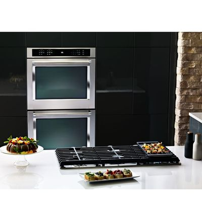 "30"" KitchenAid 5-Burner Gas Cooktop - KCGS350ESS"