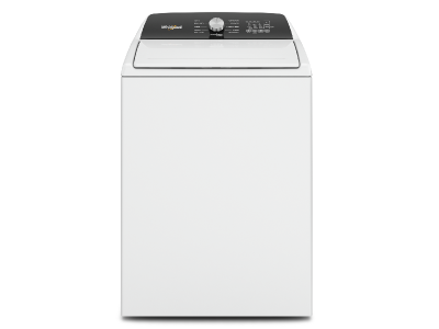 """28"""" Whirlpool 5.2 Cu. Ft. Top Load Agitator Washer with Built-In Faucet - WTW5015LW"""
