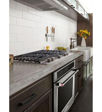 "30"" KitchenAid 5-Burner Gas Cooktop with Griddle - KCGS950ESS"