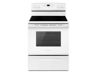 "30"" Amana Freestanding Ceran Top Electric Range YAER6603SFW"