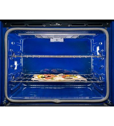 "30"" KitchenAid Double Wall Oven with Even-Heat True Convection - KODE500EBL"