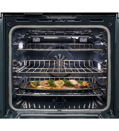 "30"" KitchenAid Double Wall Oven with Even-Heat  True Convection - KODE500EWH"