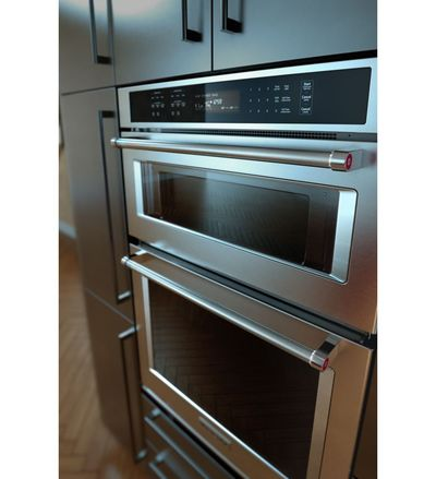 "30"" KitchenAid Combination Wall Oven with Even-Heat  True Convection (lower oven) - KOCE500ESS"