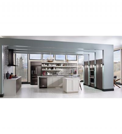 "30"" KitchenAid Double Wall Oven with Even-Heat True Convection KODE500EBS"