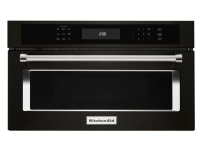 """27"""" KitchenAid 1.4 Cu. Ft. Built In Microwave Oven With Convection Cooking - KMBP107EBS"""