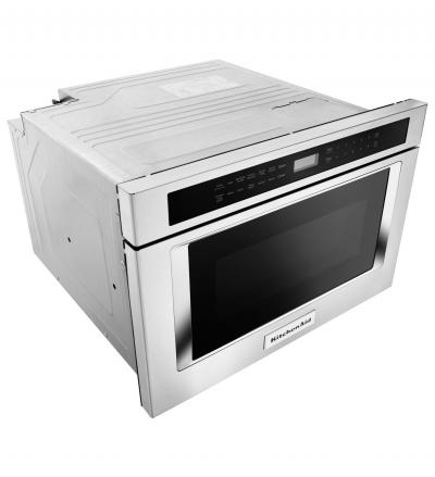 "24"" KitchenAid Under-Counter Microwave Oven Drawer KMBD104GSS"
