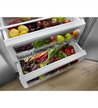 """48"""" KitchenAid 29.5 cu. ft Built-In Side by Side Refrigerator KBSD608ESS"""