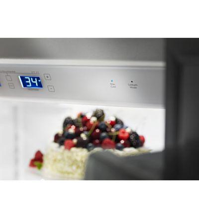 "48"" KitchenAid 29.5 cu. ft Width Built-In Side by Side Refrigerator - KBSD618ESS"