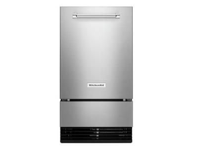 "18"" KitchenAid Outdoor Automatic Ice Maker - KUIO338HSS"