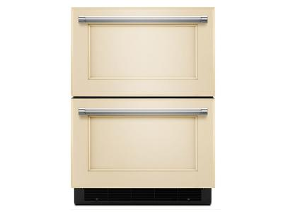 "24"" KitchenAid® Panel Ready Refrigerator/Freezer Drawer KUDF204EPA"