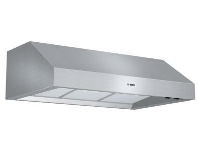"""36 """" Bosch 800 Series Under Cabinet Wall Hood - DPH36652UC"""