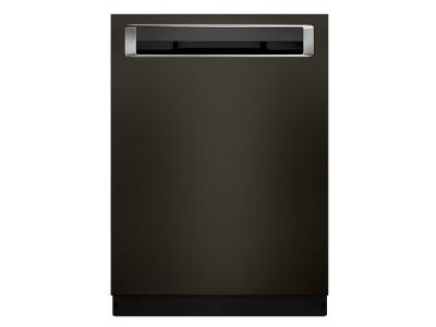 "24"" KitchenAid Dishwasher with Third Level Rack and PrintShield Finish, Pocket Handle - KDPE234GBS"