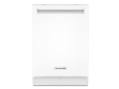 "24"" KitchenAid Dishwasher with Third Level Rack - KDTE234GWH"