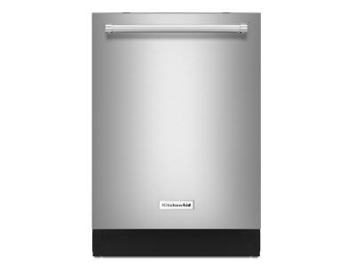 "24"" KitchenAid Dishwasher with Third Level Rack and PrintShield Finish - KDTE234GPS"